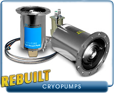 CTI Cryo-Torr 8 High Vacuum Pump, 10 in Conflat Cryopump 1500 l/s Air, 4000 l/s Water Vapor, Rebuilt