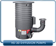 Agilent Varian HS-20 High Vacuum Diffusion Pump, 20 Inch ASA Inlet, 17,500 l/s, 480 VAC