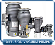 Diffusion Vacuum Pumps - New & Rebuild Diffusion Vacuum Pumps & Parts