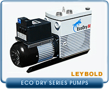 New Oerlikon Leybold Dry Piston Pumps - Leybold EcoDry Piston Vacuum Pumps