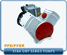 New Pfeiffer Dry Piston Pumps - Pfeiffer ExtraDry Piston Vacuum Pumps