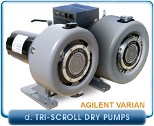 Agilent Varian TriScroll 300 to 600 Inverter Oil-Free Dry Scroll Vacuum Pump 1 Phase or 3 Phase