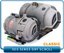 NEW BOC Edwards XDS5-XDS35 Oil-Free Dry Scroll Vacuum Pump
