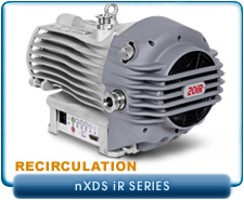 Brand NEW Edwards nXDS6iR-nXDS20iR Oil-Free Dry Scroll Vacuum Pump