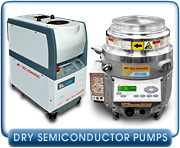 Dry Semiconductor Vacuum Pumps - Rebuilt Edwards DP, QDP, & iQDP Dry Vacuum Pumps, Parts, & Rebuilding Service