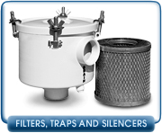 Vacuum Pump Oil Mist Filters, Vacuum Traps, and Silencers