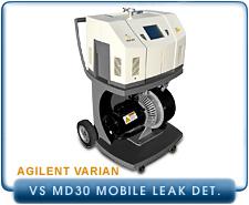 New Helium Leak Detectors - Varian VS MD30 Mobile Helium Leak Detectors