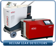 Helium Leak Detectors - Alcatel, Edwards, Inficon, Oerlikon-Leybold, Pfeiffer, and Varian