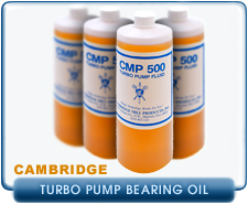 Cambridge Mill Products CMP-500 Turbo Oil Leybold, Pfeiffer, & Varian Oil Bearing Pumps, 1 Liter