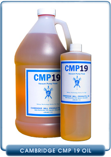 Cambridge Mill Products CMP 19 Vacuum Pump Oils