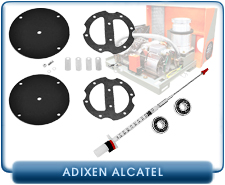 Alcatel DryTel Turbo Drag System Rebuild Kits