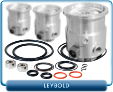 Leybold Gasket Rebuilt Service Kit for Leybold Heraeus Turbo Vacuum TMP-361C Molecular High Vac Pump