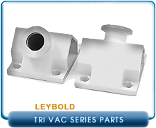 Oerlikon Leybold Trivac D4B & D8B, DN16 Exhaust & Intake Connecting Ports, Sold 1 Ea
