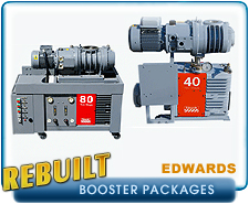 Edwards EH Series Root's Booster Blower Vacuum Pump Packages