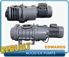 Edwards EH Series Root's Booster Blower Vacuum Pumps