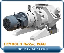 Oerlikon Leybold RuVac WAU-251-2001 Roots Blower Booster Vacuum Pump, Hydrocarbon LVO-100