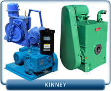 Kinney KC Series, Kinney KD Series Two Stage Rotary Piston Vacuum Pumps