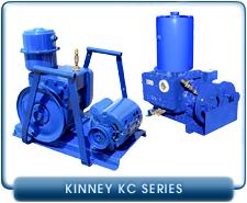 Rebuilt Kinney Rotary Piston Vacuum Pumps