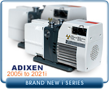 NEW Alcatel Adixen 2005I to 2021 I Analytical Pascal Dual Stage Rotary Vane Vacuum Pump NEW