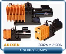 Alcatel A Series Rebuilt Rotary Vane Vacuum Pumps