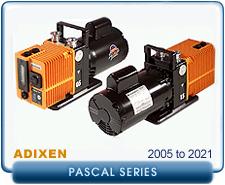 Alcatel Standrad Pascal Series Rebuilt Rotary Vane Vacuum Pumps