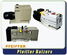 Pfeiffer Balzers Rotary Vane Vacuum Pumps