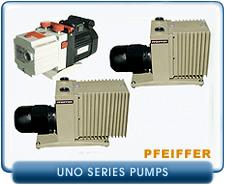 Pfeiffer Balzers UNO Series Rotary Vane Vacuum Pumps