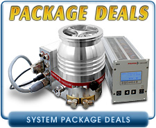 New Turbo Pump Package Deals - Alcatel, Edwards, Leybold, Pfeiffer, & Varian