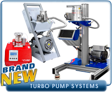 New Turbo Molecular and Turbo Drag Vacuum Pump Systems - Edwards, Varain, And Alcatel