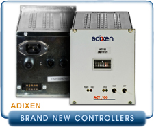 NEW Alcatel Adixen ACT 100 Turbo Pump Controller for MDP-5011, MDP-5011CP turbo drag pumps, 115 VAC