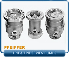 Rebuilt Pfeiffer Balzers Turbo Molecular & Turbo Drag Pumps