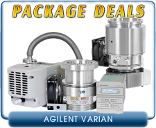 Agilent Varian New Package Deals - Turbo V81M and V301 Complete Systems