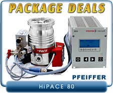 Pfeiffer HiPace 80 Turbo Pump System Package Deals
