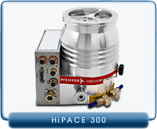 New Pfeiffer HiPace 300 Turbo Drag Pump DN100 ISO-KF ISO 100, 260 l/s P/N PMP03900