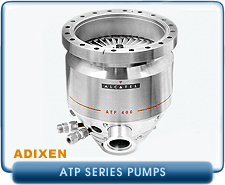 Rebuilt Alcatel ATP Turbo Molecular Vacuum Pumps