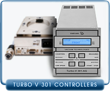 NEW Varian Turbo-V 301-AG 1/4 Rack V301 Turbo Molecular Vacuum Pump Controller