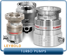New Turbo Molecular Pumps - Oerlikon Leybold Turbo Molecular Vacuum Pumps
