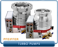 New Pfeiffer HiPace 80 and 300 Turbo Drag Pumps
