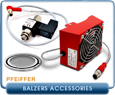 Pfeiffer Balzers Turbo Pump Cables and Cooling System Accessories