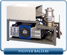 Pfeiffer Balzers TPD 020 Turbo Drag Molecular Pump with TCP 015 Controller and System Rebuilt Used