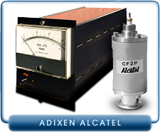Alcatel FA 101 and CF2P High Vacuum Cold Cathode Penning Gauge Controller,