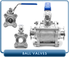 Vacuum Ball Valves - Manual and Pneumatic Ball Valves