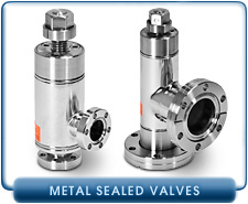 All Metal Angle Valve, 0.75 to 1.50 Inch Manual, 1.33 to 1.50 Inch CF-F Vacuum Fittings, Conflat Flange, SS