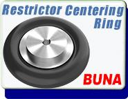 Centering Ring Restrictor Buna KF10, KF16, KF25, KF40, KF50