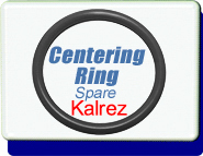 Kalrez 6375 O-Ring Centering Ring Vacuum fitting flange Replacement IS0 LF
