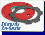 Edwards Co-Seal ISO40, for high vacuum applications <10-6 mbar, Nylon, Nitrile, B27158458