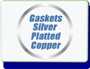 Conflat Flange (CF) Silver Plated Copper Gaskets CF Size 2.75 inch