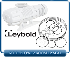 Leybold WS1001, WSU1001, Booster Blower, Seal and Gasket Kit