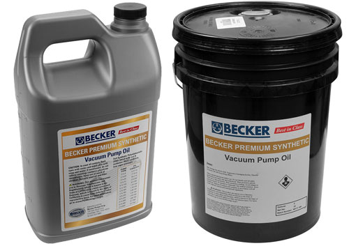 Becker Premium Synthetic Oil Cover Image
