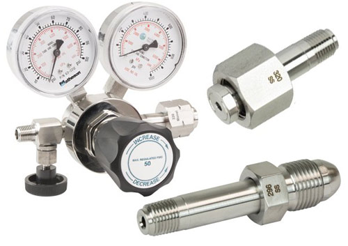 Gas Regulators & CGA Inlets Cover Image